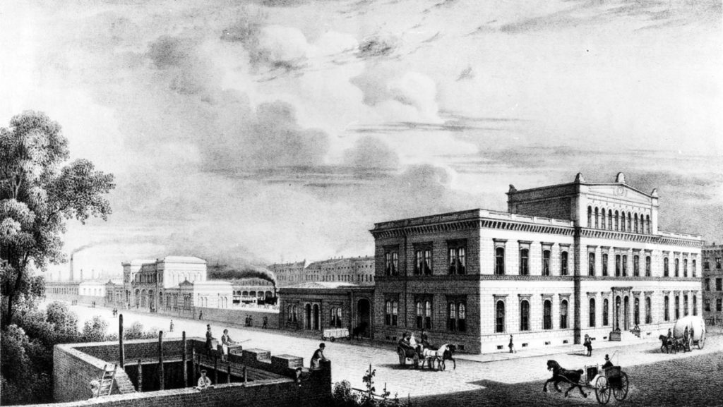 Der Ostbahnhof, Quelle: FHXB-Museum
