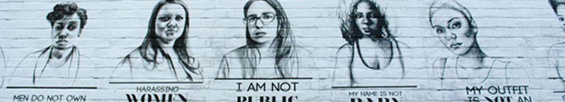 """Kulturtipp: """"My Name is Not Baby!"""" zeigt Teile der Porträtserie """"Stop Telling Women To Smile"""" der Künstlerin Tatyana Fazlalizadeh im FRIEDA Frauenzentrum"""