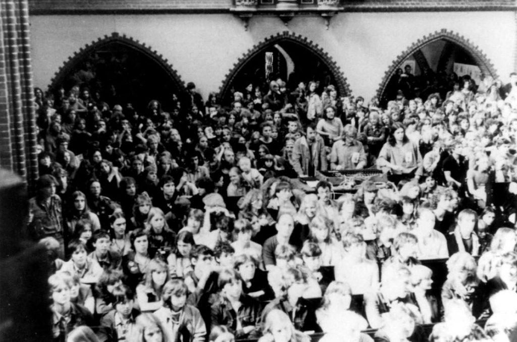 Blues-Messe 1981 in der Erlöserkirche/ Foto: BStU /