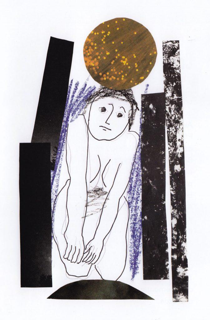 Collage der Graphikerin und Künstlerin Regina Gebhard