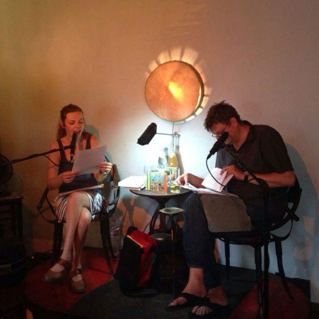 Lesebühne in der Bänsch Bär mit Herr von Keil und Lea Streisand