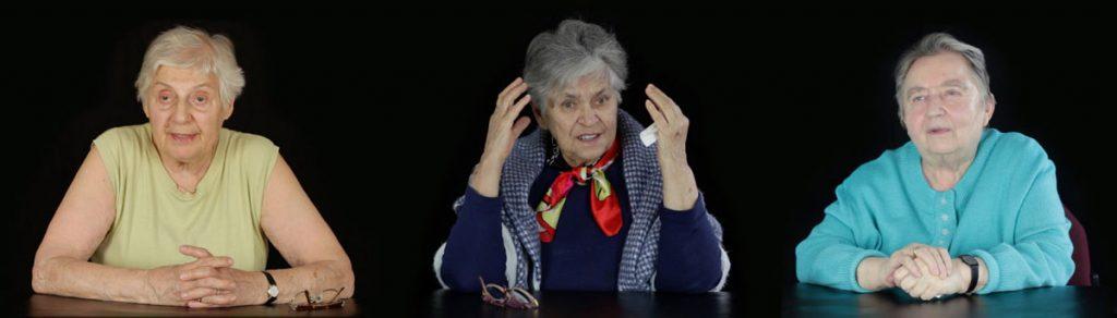 """Doku """"Kriegskinder"""" von Ina Rommel & Stefan Krauss. Zwölf Frauen berichten über ihre persönlichen Erlebnisse während des 2. Weltkrieges. Sie erzählen sehr emotional, aber auch manchmal erschreckend nüchtern, was sie zwischen sieben und siebzehn erlebt haben."""
