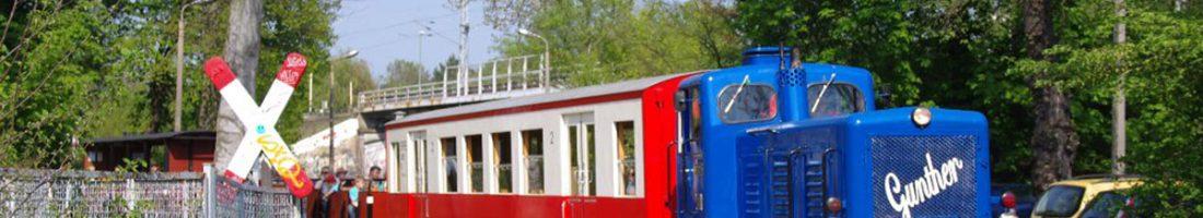 Die beliebte Parkeisenbahn, Foto: Maximilian Ritter / www.bahnnatur.de