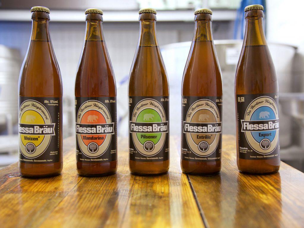 Christoph Flessa braut sechs Sorten Bier, Foto: Anne Winkler