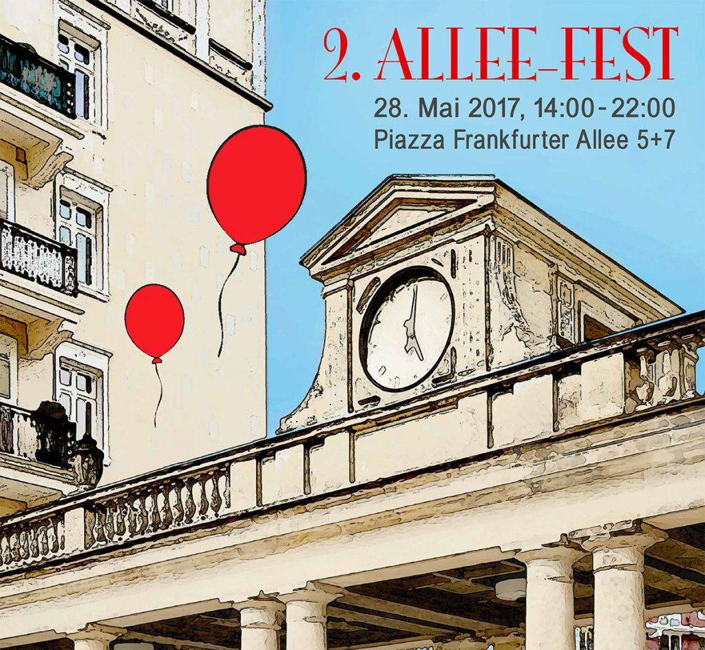 Allee-Fest in der Frankfurter Allee, Berlin