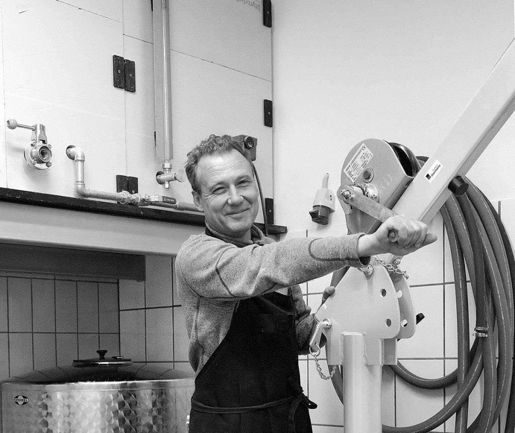 Christoph Flessa in seiner Brauerei