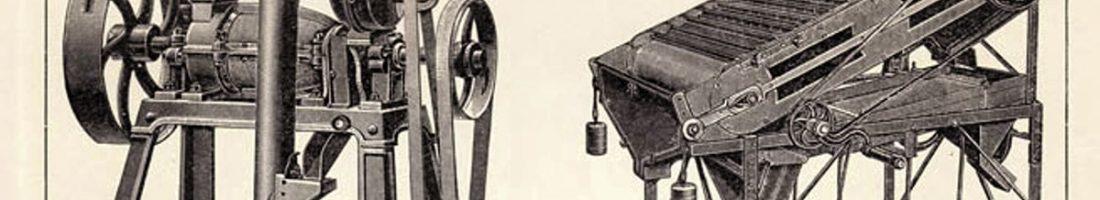 Import und Grossindustrielle Verarbeitung von Kaffee, Quelle: Brockhaus Lexicon 1908
