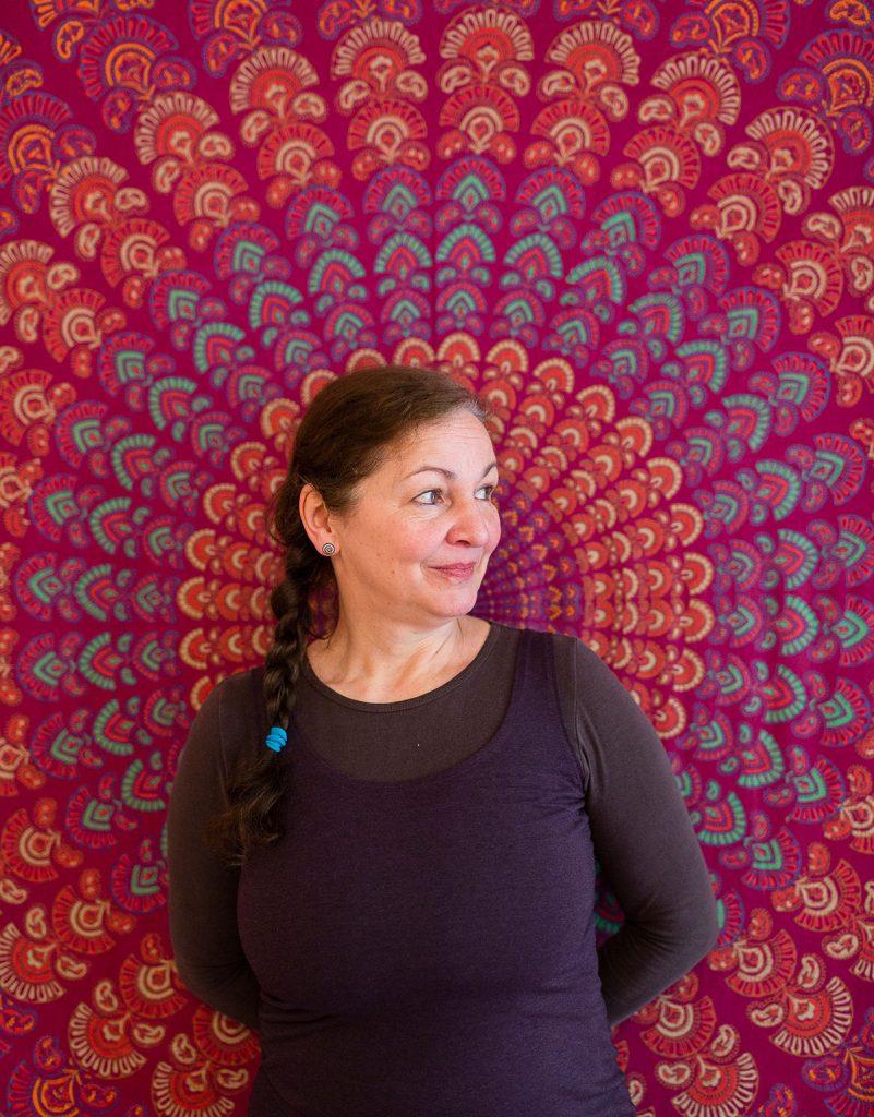 Yoga-Lehrerin Larissa Brodöhl, Foto: Giovanni Lo Curto