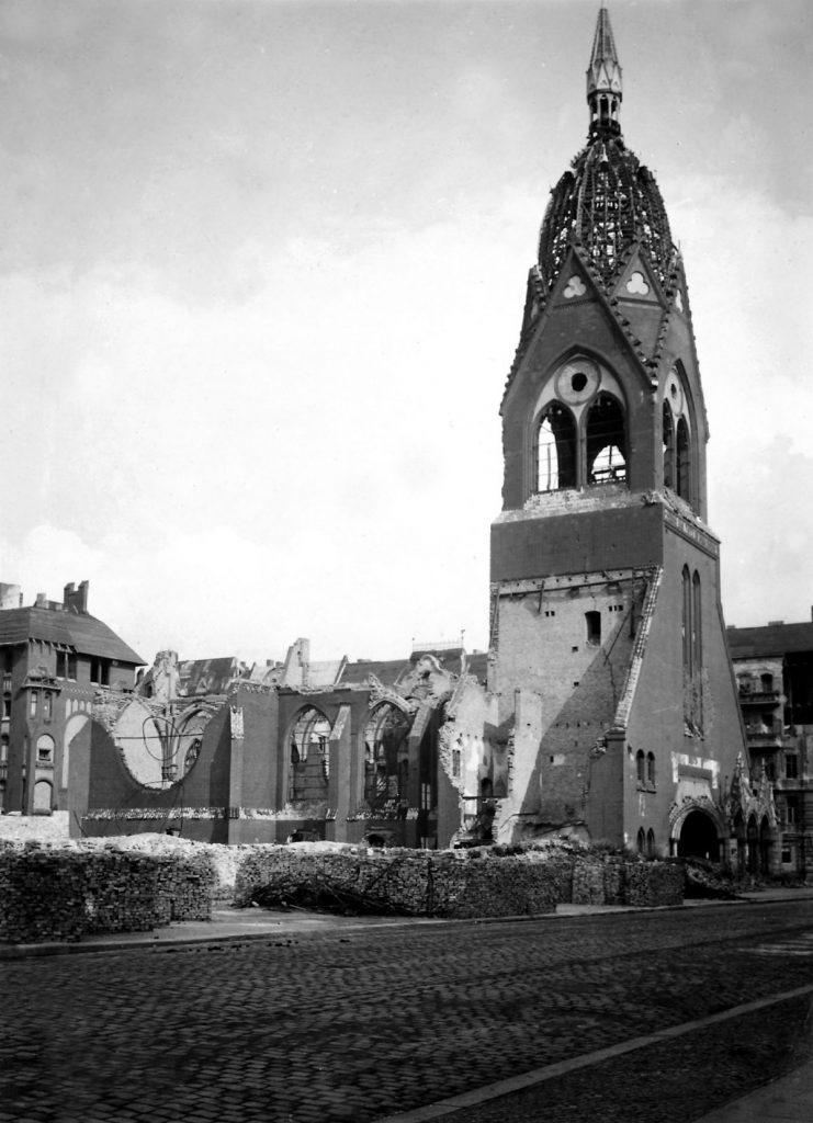 Lazaruskirche, 1945, Archiv St. Markus Friedrichshain
