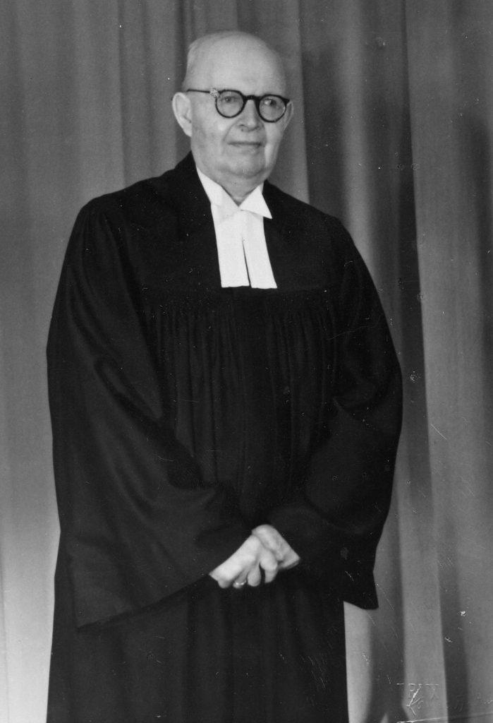 Pfarrer Moritz Kracht, 1951, Foto: Gemeinde Lazarus