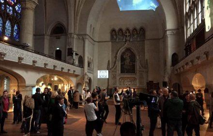 Medienkunst, Installation, Performance in der Zwingli-Kirche