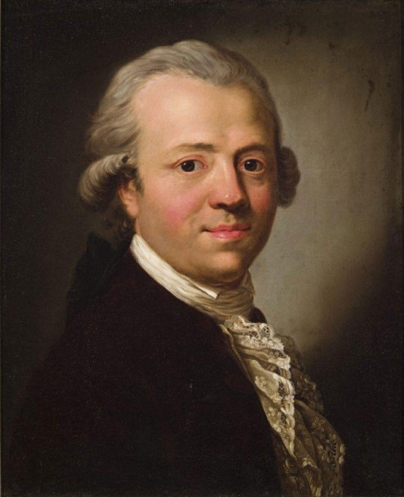 Der Verleger Friedrich Nicolai im Jahre 1790 in einem Gemälde von Ferdinand Collmann, Bild: Wikimedia Commons