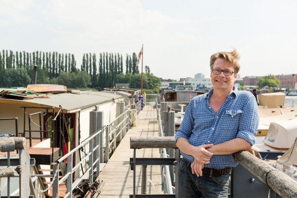 Kirk Schoormann, Geschäftsführer des Berliner Schiffskontors, Foto. Giovanni Lo Curto