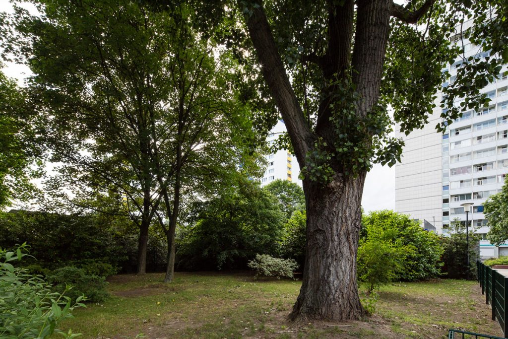 Heutiger Standort des Lehm- bzw. Blumenschlösschens | Foto. Giovanni Lo Curto