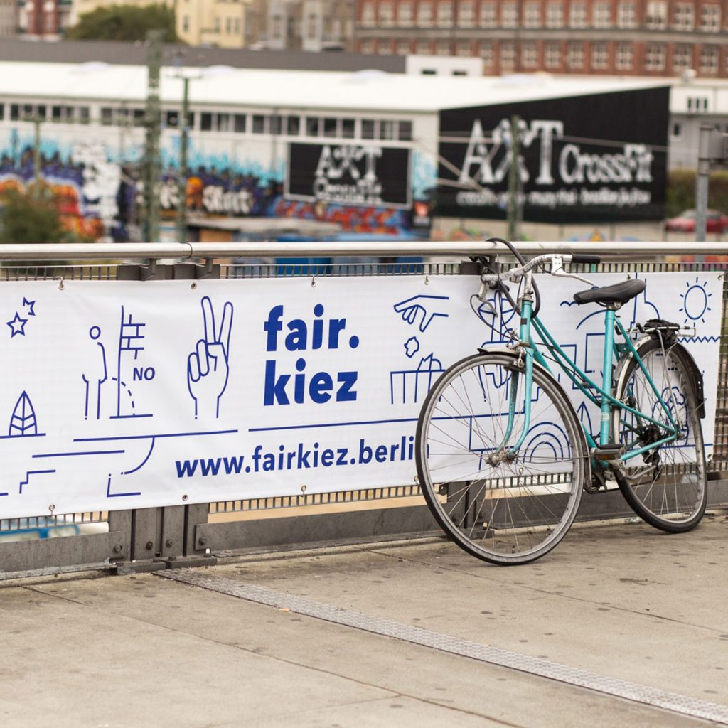 fair Miteinander im Kiez. Dafür setzt sich fair.kiez ein, Foto: Wirtschaftsförderung Friedrichshain-Kreuzberg