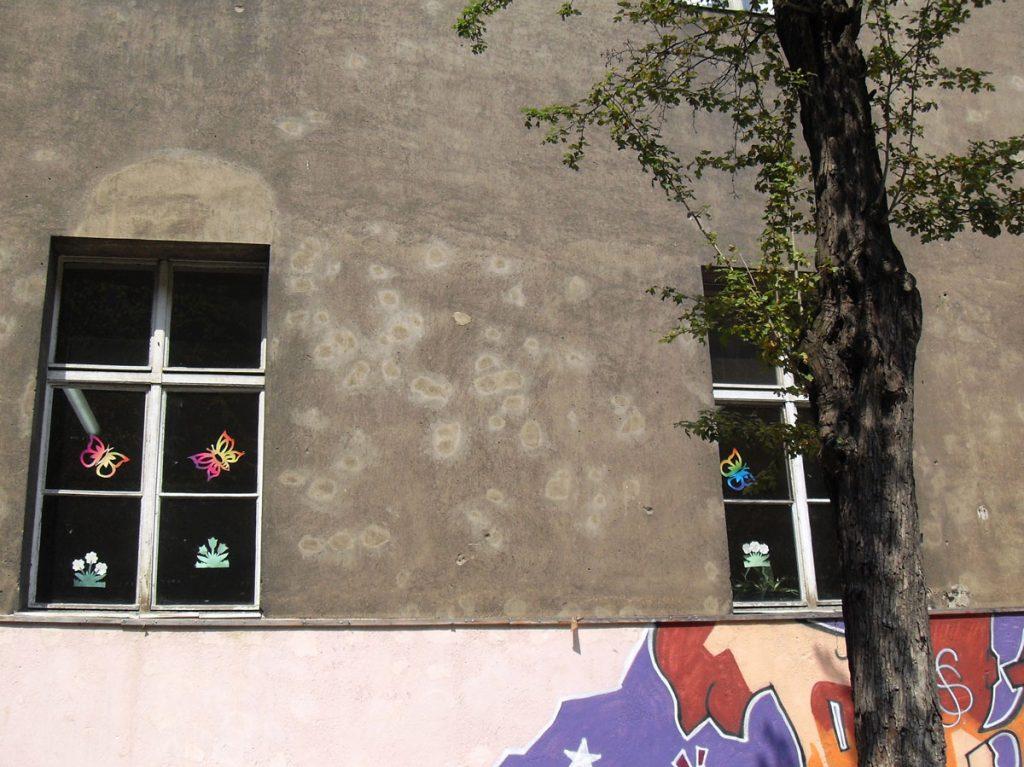 Spuren der Vergangenheit im Gemäuer der Hausburgschule , Foto: Detlef Krenz