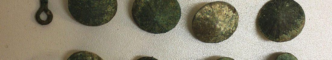 Knöpfe aus Grab Nr. 109 , Foto: Archäo Kontrakt