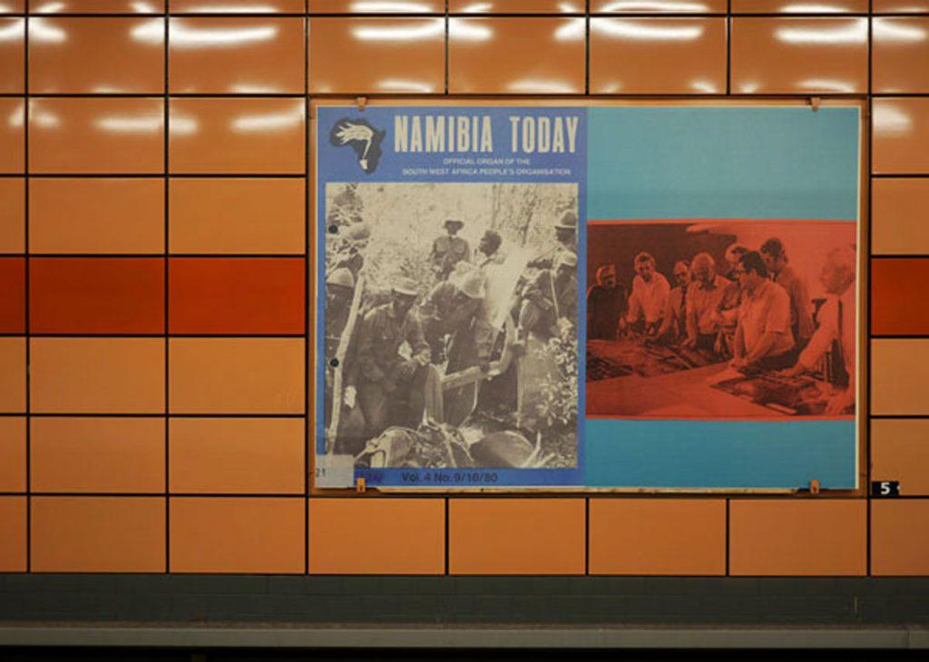 Dauerausstellung Schöne U-Bahn Laura Horelli: Namibia Today – Kunst im Untergrund 2016/17: Mitte in der Pampa
