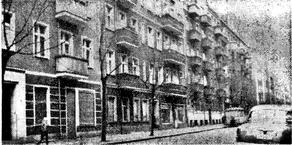 Krossener Straße, 1972 | Quelle: Privat