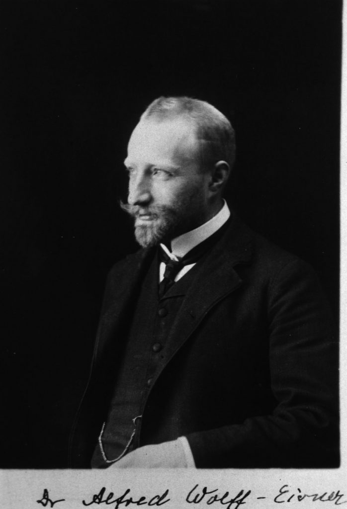 Jüdische Ärzte in Berlin: Alfred Wolff-Eisner | Foto: U.S. National Library of Medicine