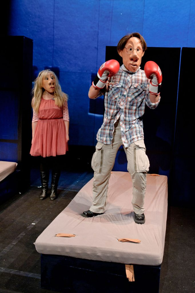 Theaterstück Klasse Klasse : School's out, join the fun! Foto: Jörg Metzner