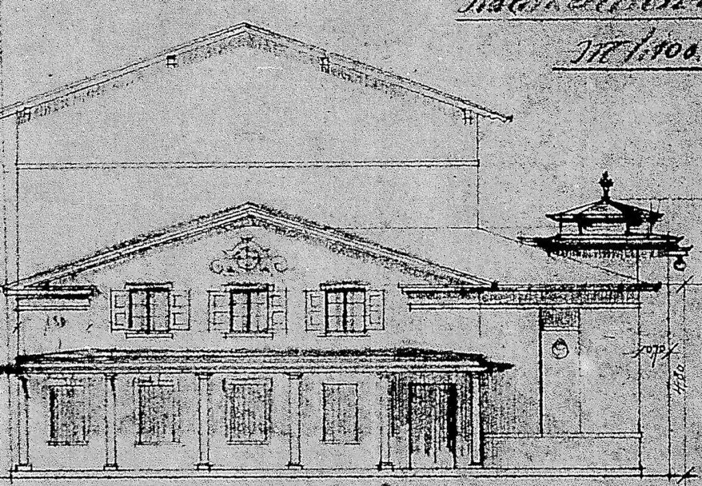 Friedrich-Wilhelm-Hospitals 1891 Erweiterungsbau/ Quelle: Geschäftsbericht F-W-Hospital 1891