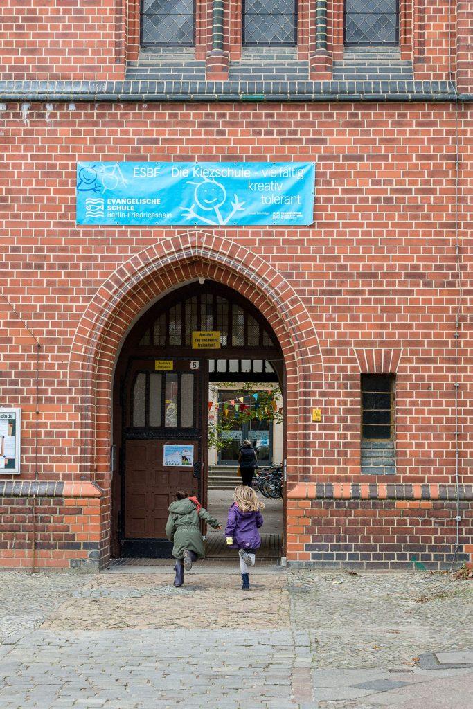Evangelische Schule Berlin-Friedrichshain   Foto: Giovanni Lo Curto