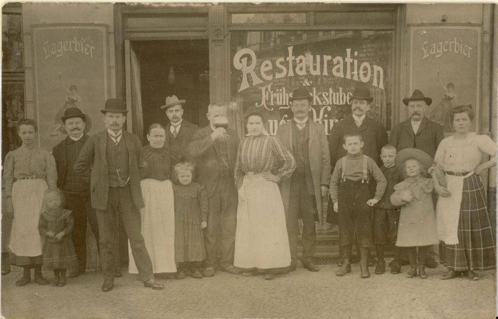 Die Schankwirtschaft der Familie Kirsch in der Petersburger Straße 81 in Freidrichshain| Foto: privat