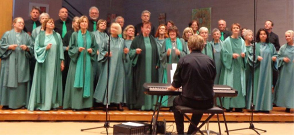Gospelkonzert mit den Hallelujah-Children   Foto: Marietta Tavakoli