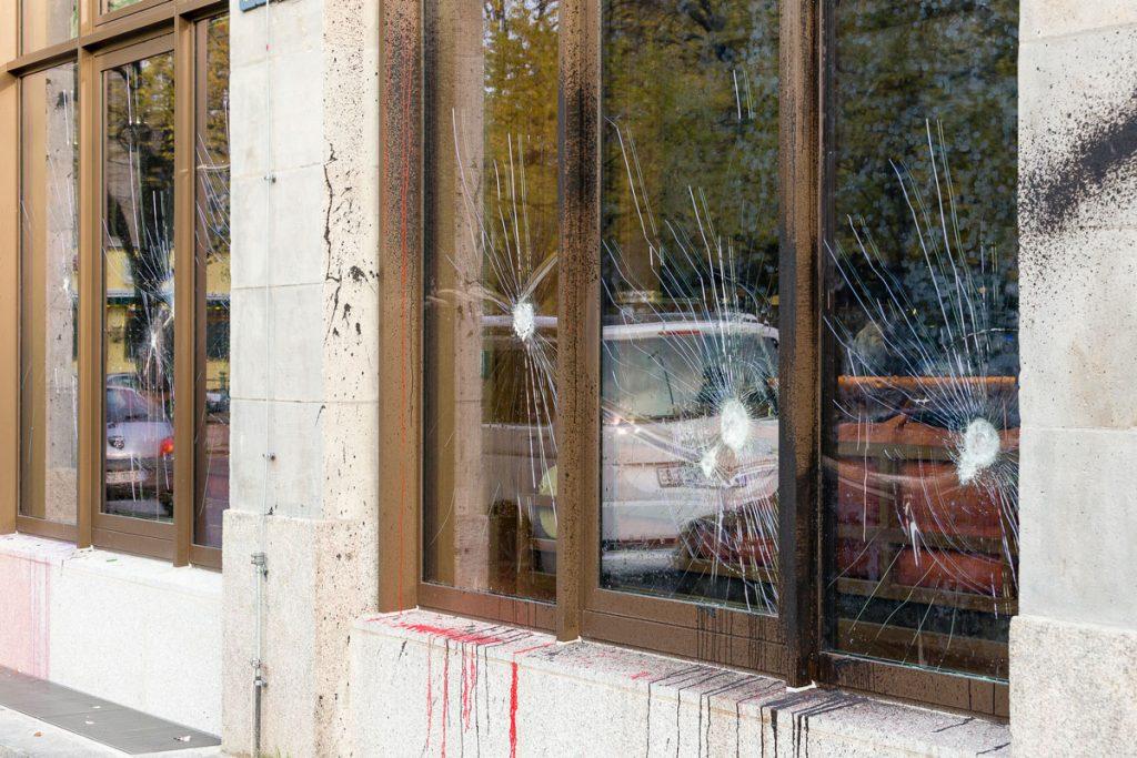Spuren der Attacken auf das Luxus-Hotel | Foto: Giovanni Lo Curto