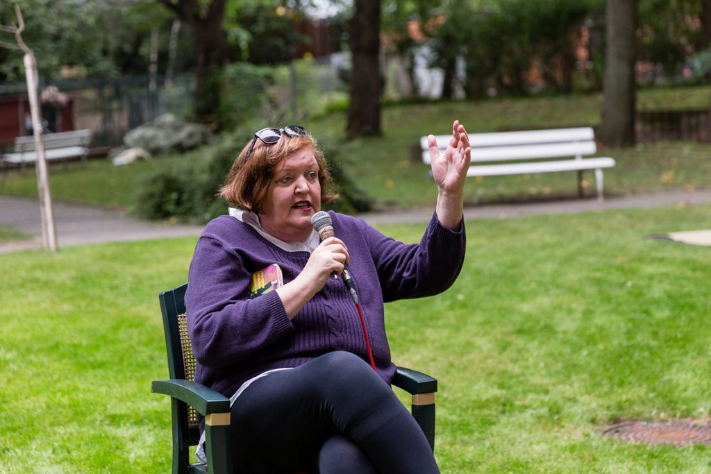 Das Große Pressefest der Kleinen mit Kabarettistin Barbara Friedl-Stocks | Foto: Giovanni Lo Curto