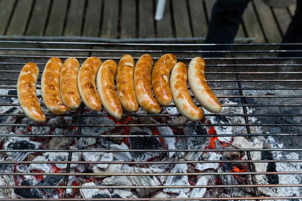 Würstchen, Kuchen, Gulaschkanone u.v.m. gab es auf dem Großen Pressefest der Kleinen | Foto: Giovanni Lo Curto