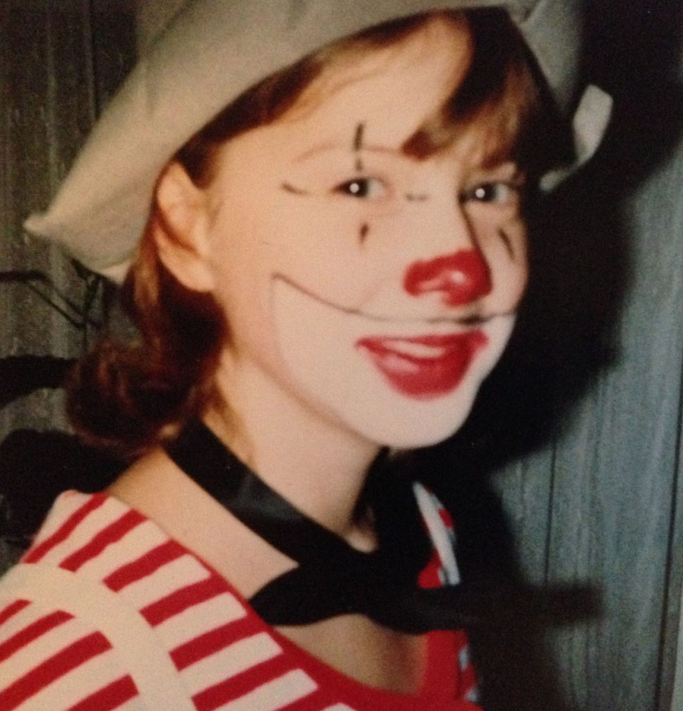 Die junge Sonja beim Fasching 1981 | Foto: privat