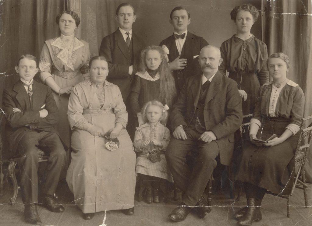 Familienfoto: Familie Kirsch um 1916 | Foto: privat