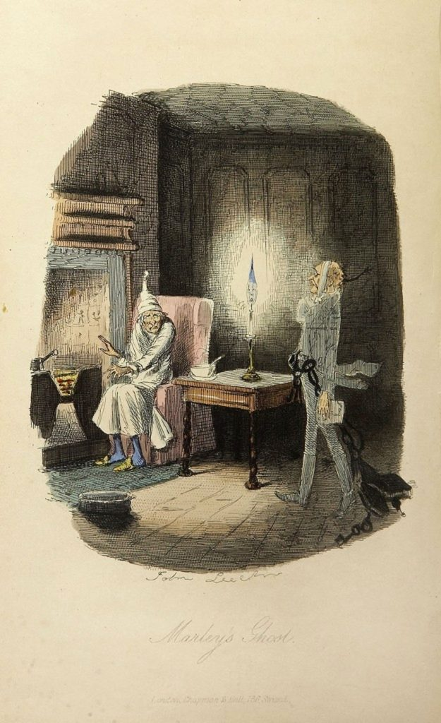 Eine Weihnachtsgeschichte von Charles Dickens – Ein Live Hörspiel. Bild: wiki-commons