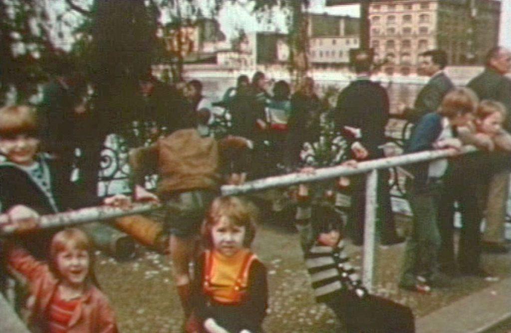 Beliebt bei Kindern: das ehemalige Gröbenufer   Bild: BstU-Archiv