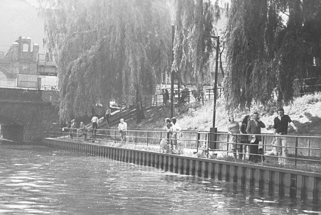 Das Ufer war eine Gefahr für Kinder | Foto: BstU-Archiv