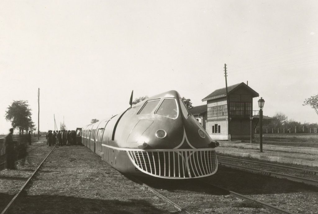 Talgo-Zug im Jahr e 1942 in Spanien, Foto: Talgo GmbH