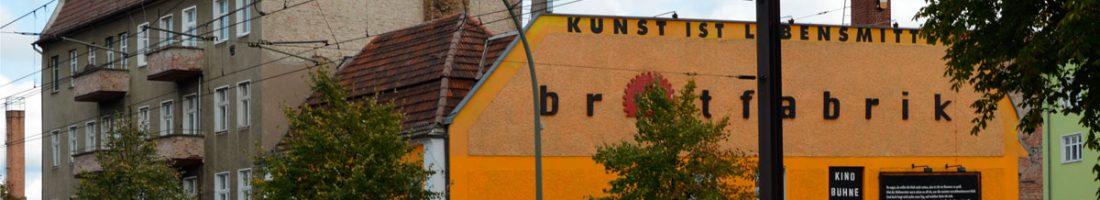 Die Brotfabrik in Weißensee | Foto: Dirk Moldt