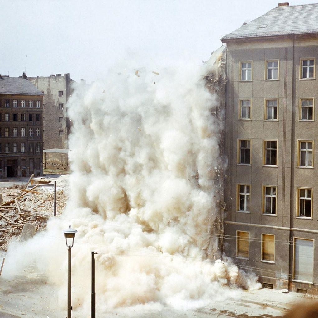 Sprengung in der Fruchtstraße in den 70igern | Foto: Jochen Haupt
