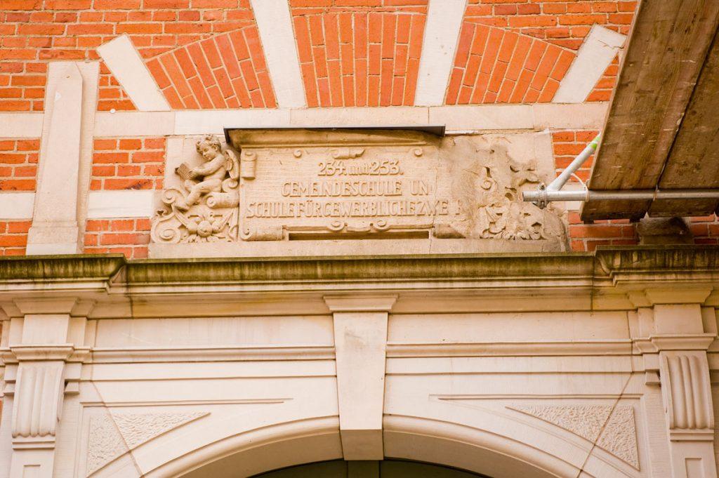 Gemeindeschule in der Straßmannstraße in Berlin-Friedrichshain | Foto: Silvio Weiß