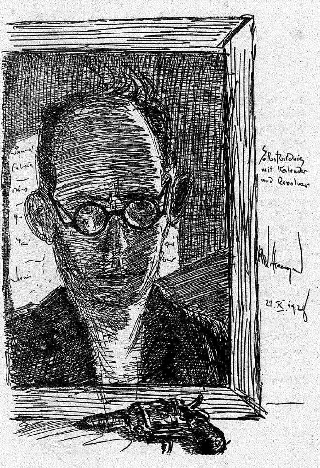 Walter Hempel | Quelle: Walter Hempel, Irrsinnig!?, Berlin 1929, S. 129