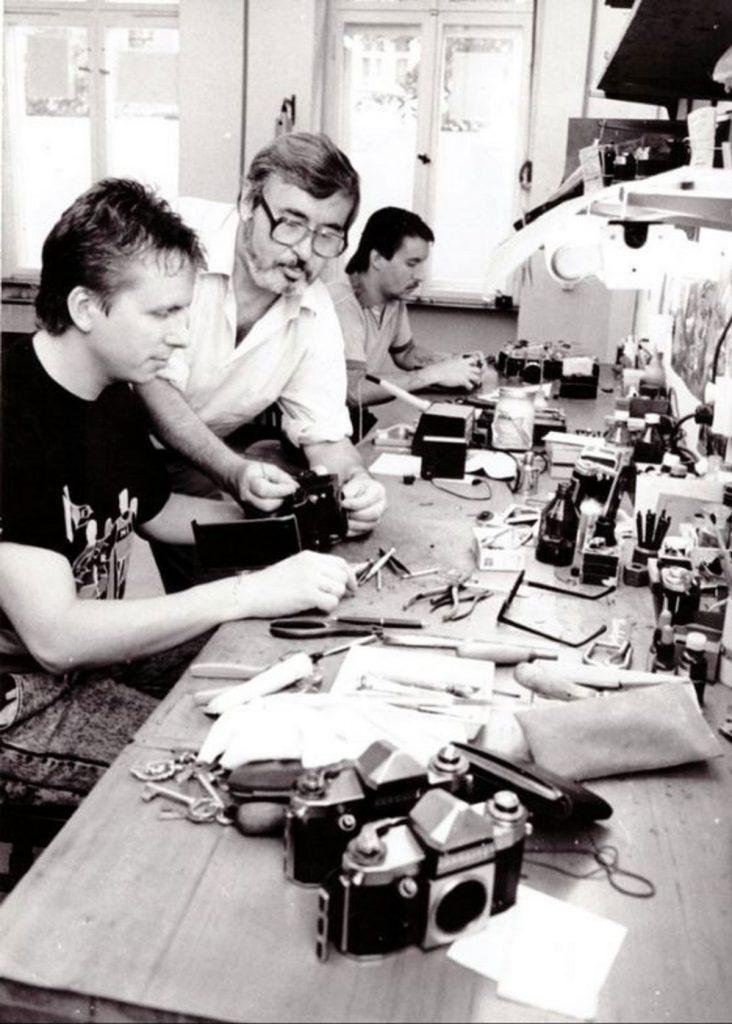 Michael Prügel und sein Vater Foto: privat