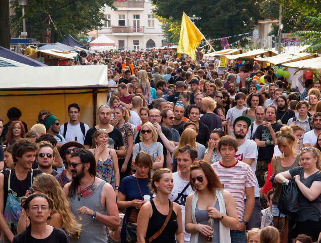 Straßenfest in Berlin-Friedrichshain mit Suppe&Mucke | Foto: Tichy Blue