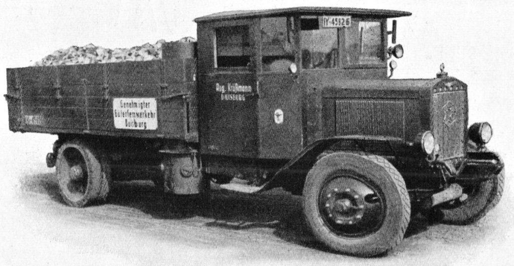 Buessing LKW   Quelle: Katalog Imbert 1939