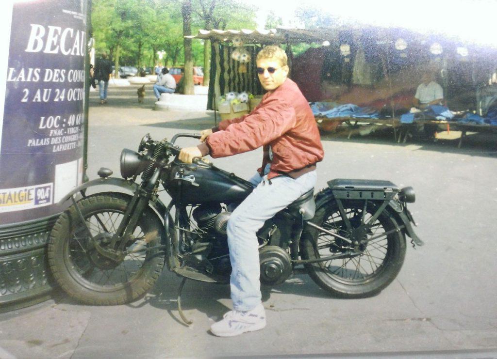 Oliver Drudowsky im Jahre 1996 | Foto: privat
