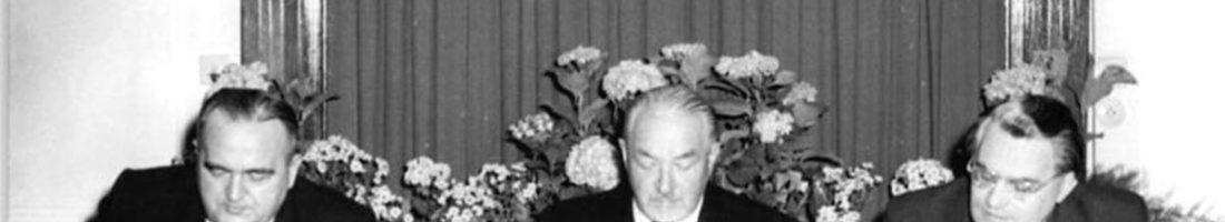 Otto Nuschke bei der Parteiversammlung | Quelle: Bundesarchiv Bild 183-26500-0006 Foto: Wocka