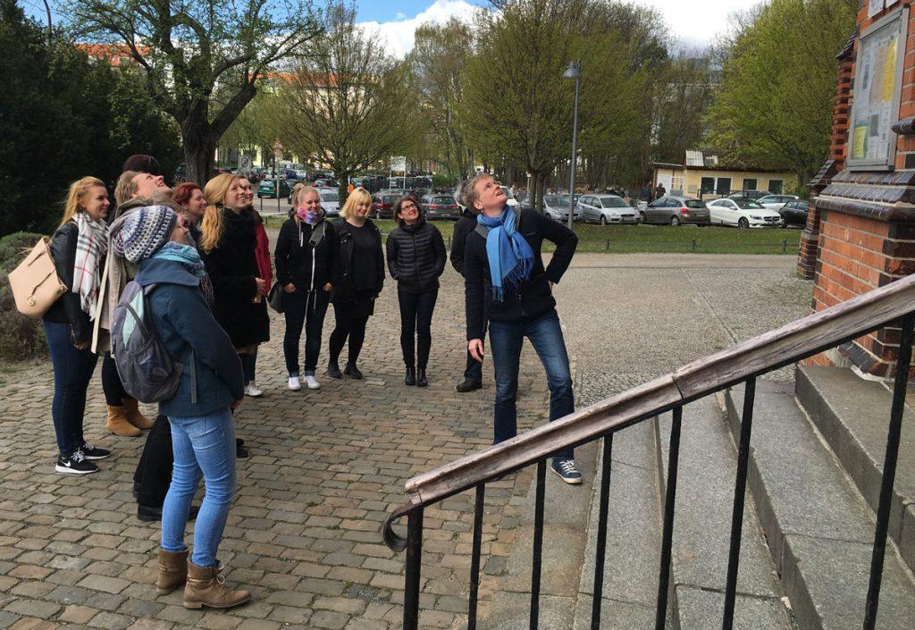 Unterwegs mit Antje Zimmermann, Geschäftsleiterin der Stadtführungsagentur Crossroads | Foto: privat