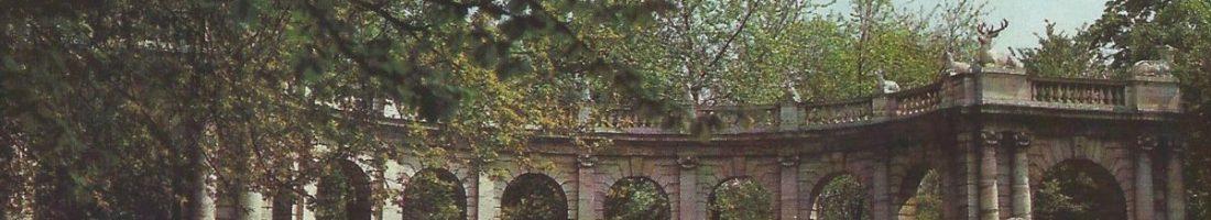 Volkspark Friedrichshain | Quelle: Historische Postkarte 1985