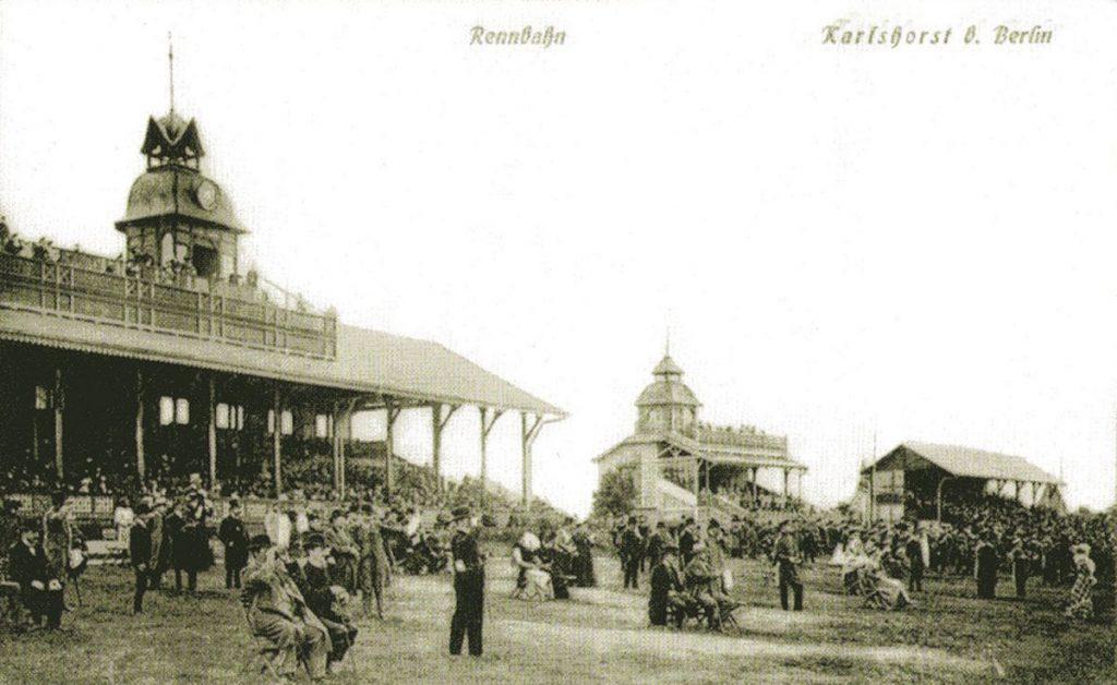 Trabrennbahn Karlshorst um 1900 | Bild: Museum Lichtenberg